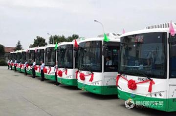 """氢能源公交上线,开沃助建武汉""""氢能之都"""""""