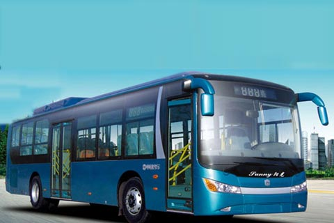 中通纯电动城市客车LCK6120GEV