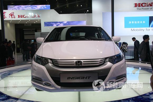 本田混合动力轿车INSIGHT 混合动力汽车 新能源汽车网高清图片