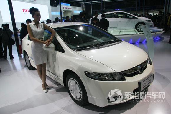 本田思域混合动力轿车CIVIC 混合动力汽车 新能源汽车网 新能源汽车高清图片