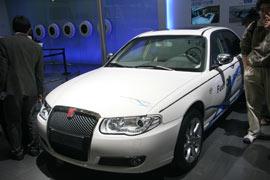 上汽上海牌燃料电池轿车