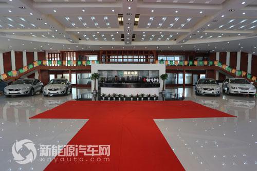 国能电联新能源汽车展厅-打造中国新能源汽车销售与租赁服务领导品牌高清图片