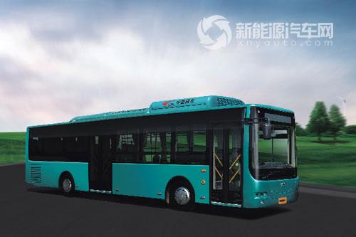 中车时代电动12米增程插电式客车