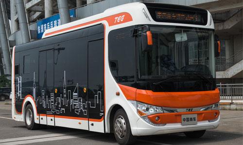 中车时代电动8米纯电动客车