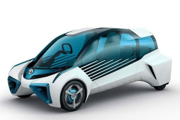 丰田燃料电池汽车FCV-Plus概念车