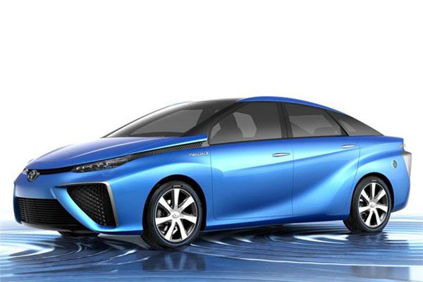 丰田FCV燃料电池概念车