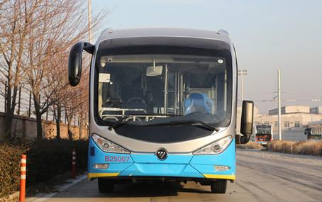 福田欧辉客车bj6180系列纯电动城市客车图片