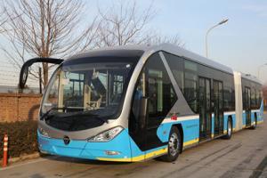 福田欧辉客车BJ6180系列纯电动城市客车
