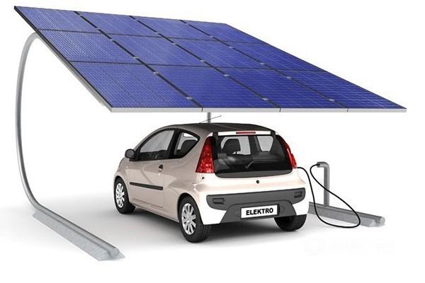 上海建成首个太阳能充电桩 缓解电力负荷