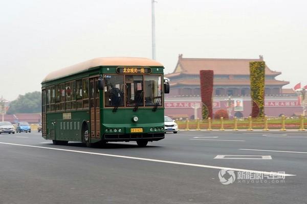 在运营的银隆新能源客车