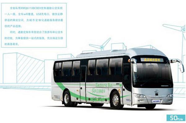 大金龙客车XMQ6110BCBEV