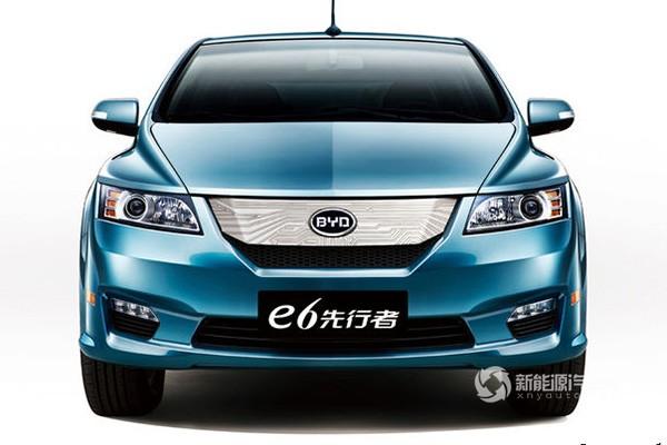 比亚迪E6先行者纯电动轿车
