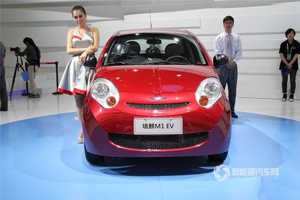 奇瑞M1 EV纯电动轿车