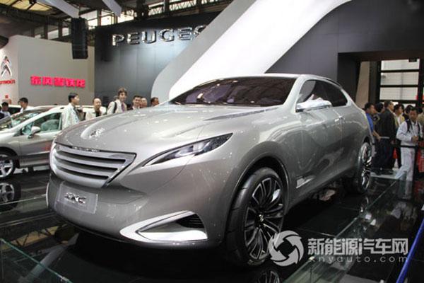 东风标致SXC混合动力轿车