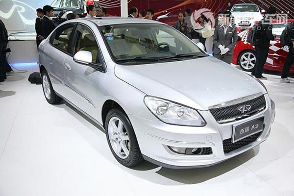 奇瑞A3ISG混合动力轿车