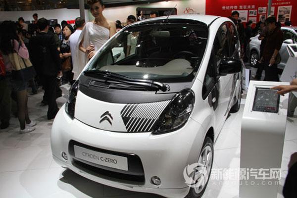 东风雪铁龙CITROEN C-ZERO纯电动轿车