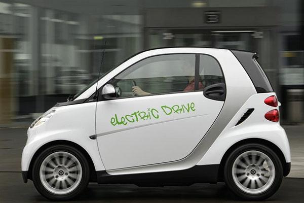 奔驰Smart fortwo EV电动汽车