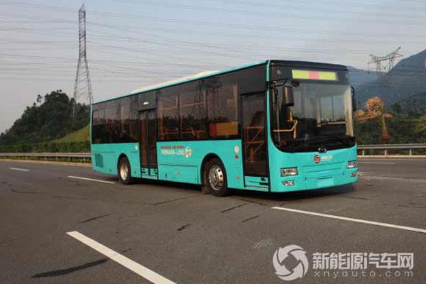 五洲龙FDG6111HEVG混合动力客车