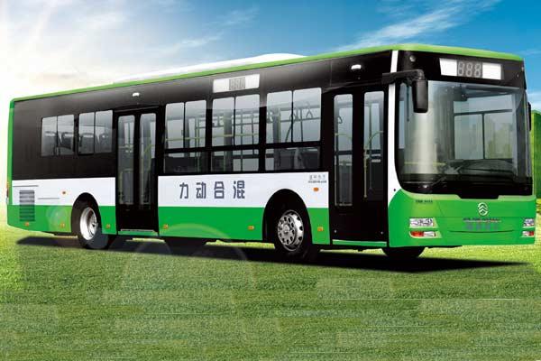 金旅XML6125JHEV混合动力客车