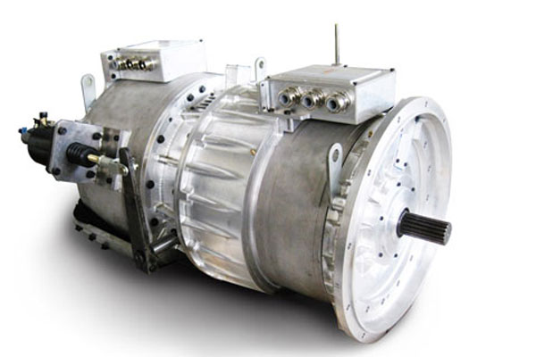 精进电动同轴混联双电机系统