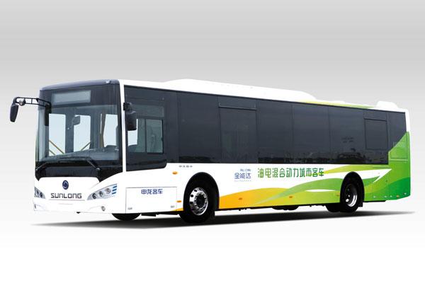 申龙SLK6129油电混合城市公交