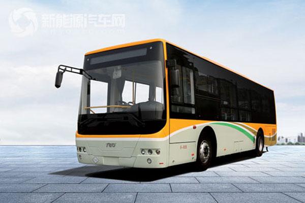 中车时代电动10米增程插电式客车