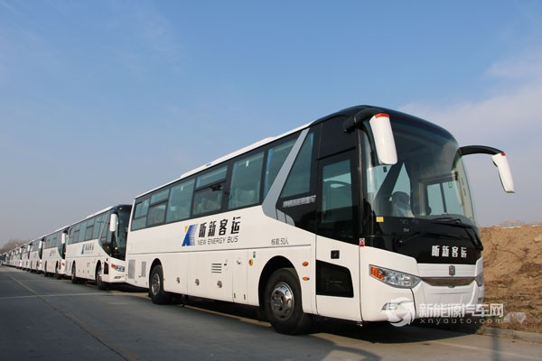 沈阳市场的插电式混动客车订单-进军 蓝海 400余台中通新能源旅游客