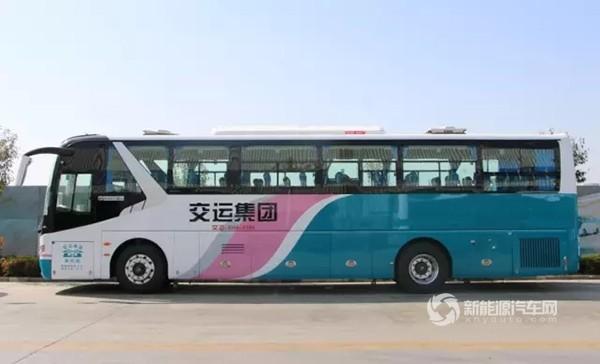 来自青岛温馨巴士的新能源客车订单