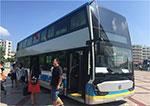 北京公交再添70辆银隆双层纯电动公交车