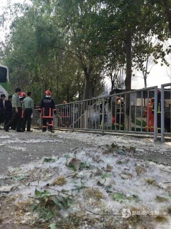 那么,事件的真相到底如何?当天北京消防官方微博发布的消息其实已显示,消防人员在扑救过程中发现停车场周边种植大量杨树、柳树,地面有大面积杨絮、柳絮堆积。而在5月2日北京卫视晚间播出的《北京新闻》中,更是明确指出,5月1日在朝阳区孙河乡前苇沟村一停车场(即蟹岛度假村停车场)发生的火灾,就是由于堆积的杨柳絮快速燃烧波及所致。为此,北京市政府今天下午召开工作会,部署加强近期消防安全工作,北京市人民政府办公厅还发布《关于清理杨柳絮防止发生火灾的紧急通知》。《通知》指出,杨柳絮吸附能力强,且质轻易燃,燃烧速度快