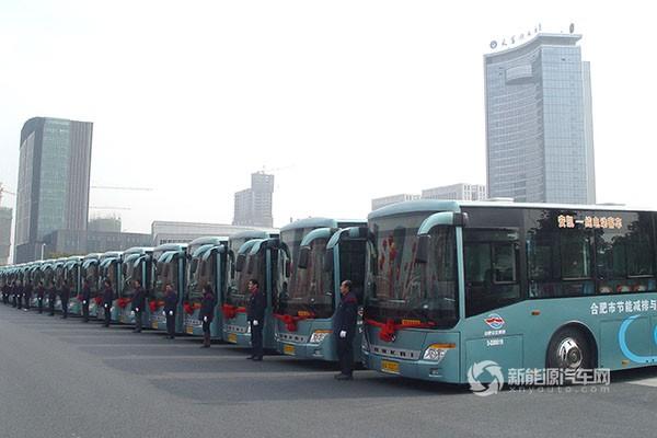 市场全面开花 安凯又获合肥400辆新能源与清洁能源客车大单