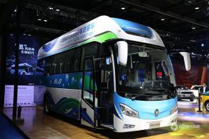 福田燃料电池车亮相2017节能与新能源汽车展