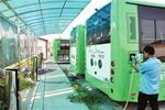 四川广元:22辆新能源公交投入使用 公交充电站也同期投运