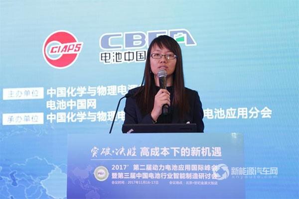 王芳:动力电池标准与测试评价技术的研究