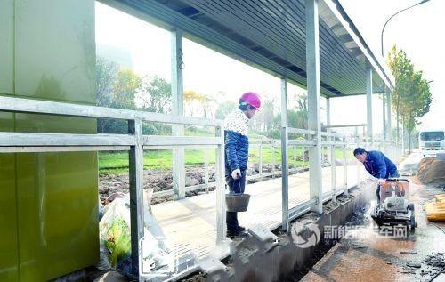 浙江金华 新能源汽车小镇 将迎来首条公交线高清图片