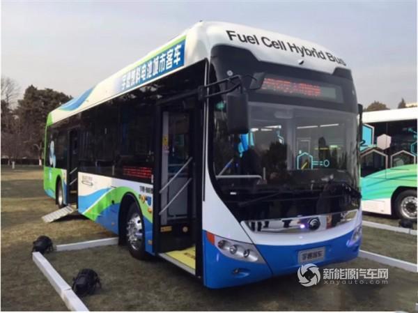 宇通12米氢燃料电池客车