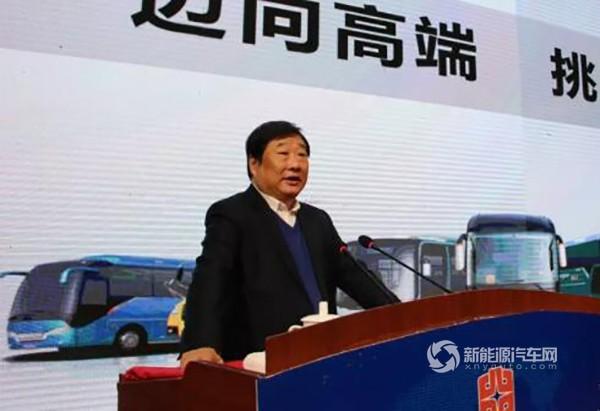 为中通客车打气!谭旭光:我们将引领新能源客车未来