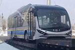 辽宁葫芦岛:2辆青年纯电动公交即将投入运营