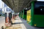 """山西太原:首批纯电动公交运营""""满月""""每年可减排2.5万吨"""