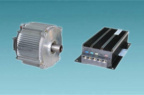 上海电驱动—2.8Kw低速电动车用电机系统