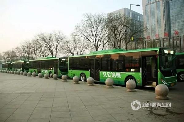 山西:长治市投放12米纯电动公交