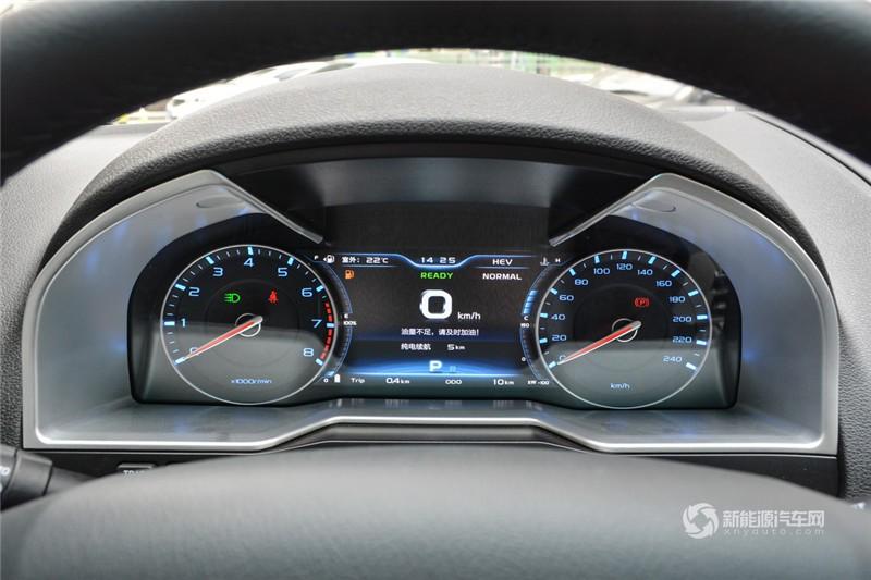 吉利帝豪 2018款 PHEV 1.5L 精英型