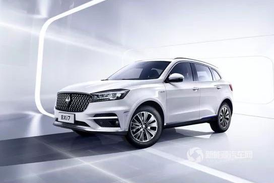 补贴后28.5万起  四驱纯电动SUV宝沃BXi7上市!