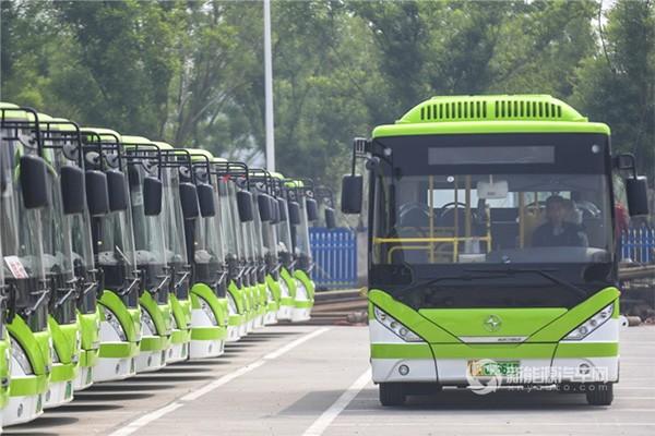 河北霸州:大力推进新能源公交