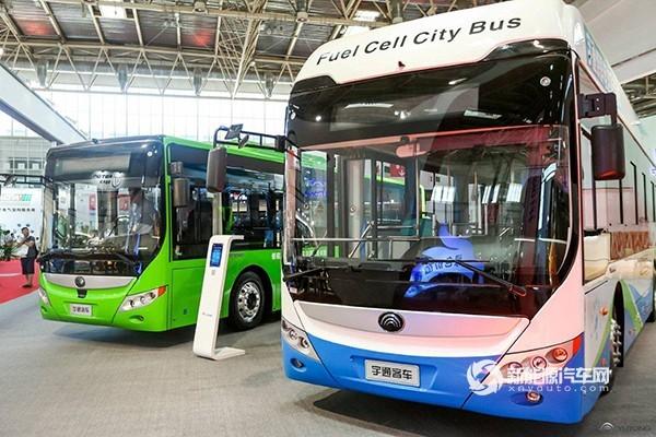 宇通客车携四款车亮相第十四届国际交通技术与设备展览会