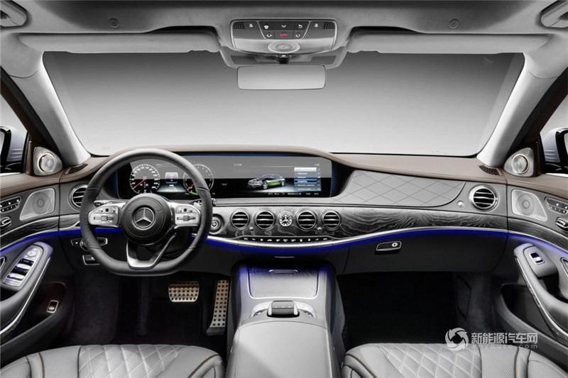 奔驰S级混合动力 2017款 S 500 eL