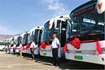 甘肃兰州:40辆新能源城际公交车投放