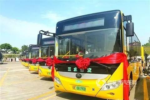 广东佛山:三水区投放50辆宇通纯电动公交