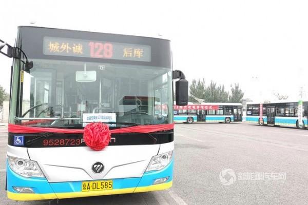 北京:第29条无轨电车投入运营
