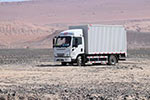 地表温度超70℃ 比亚迪T5A纯电动卡车挑战吐鲁番高温测试
